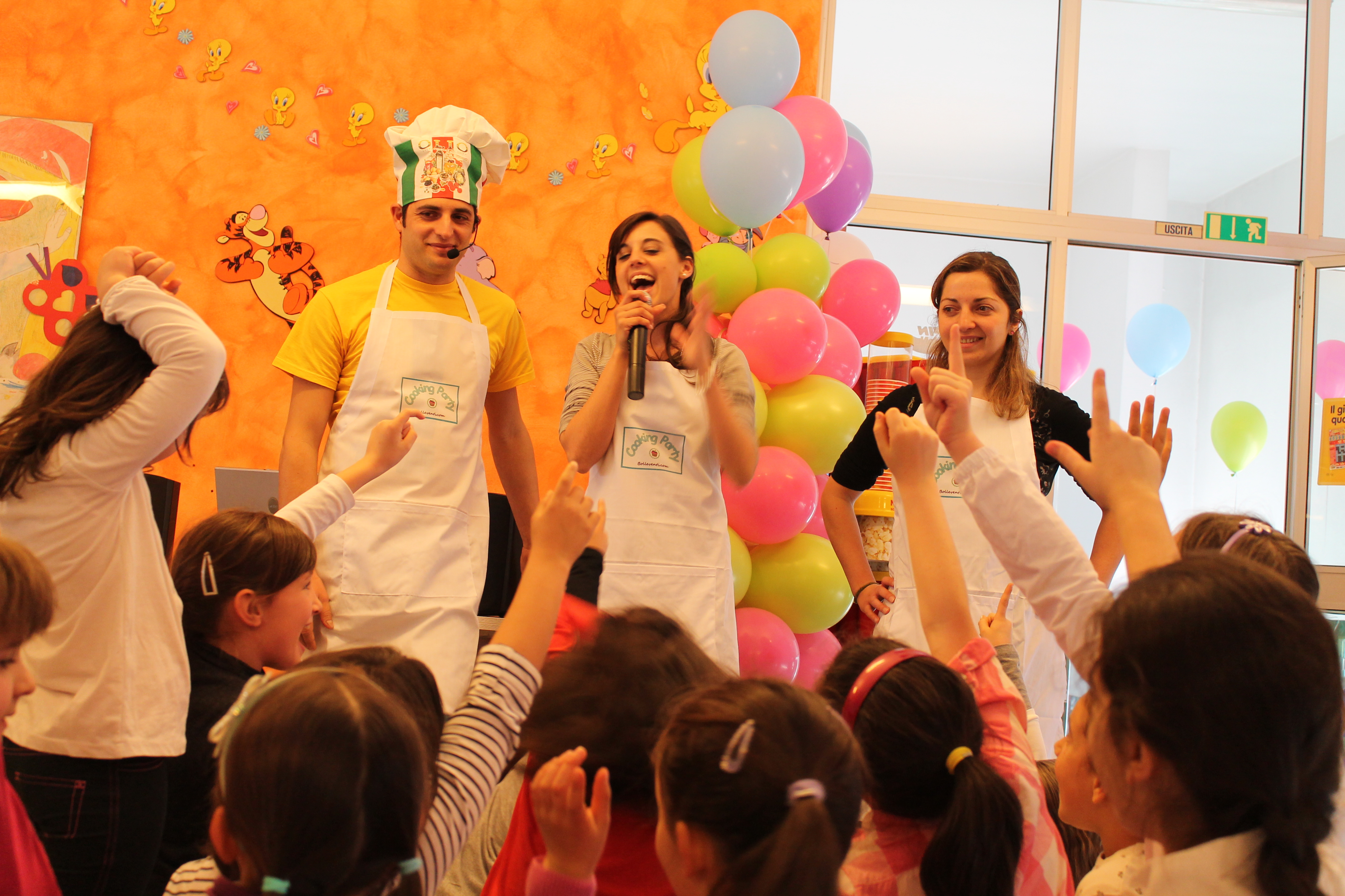 Cooking party: la festa di compleanno con lo chef! ⋆ bolle eventi ...