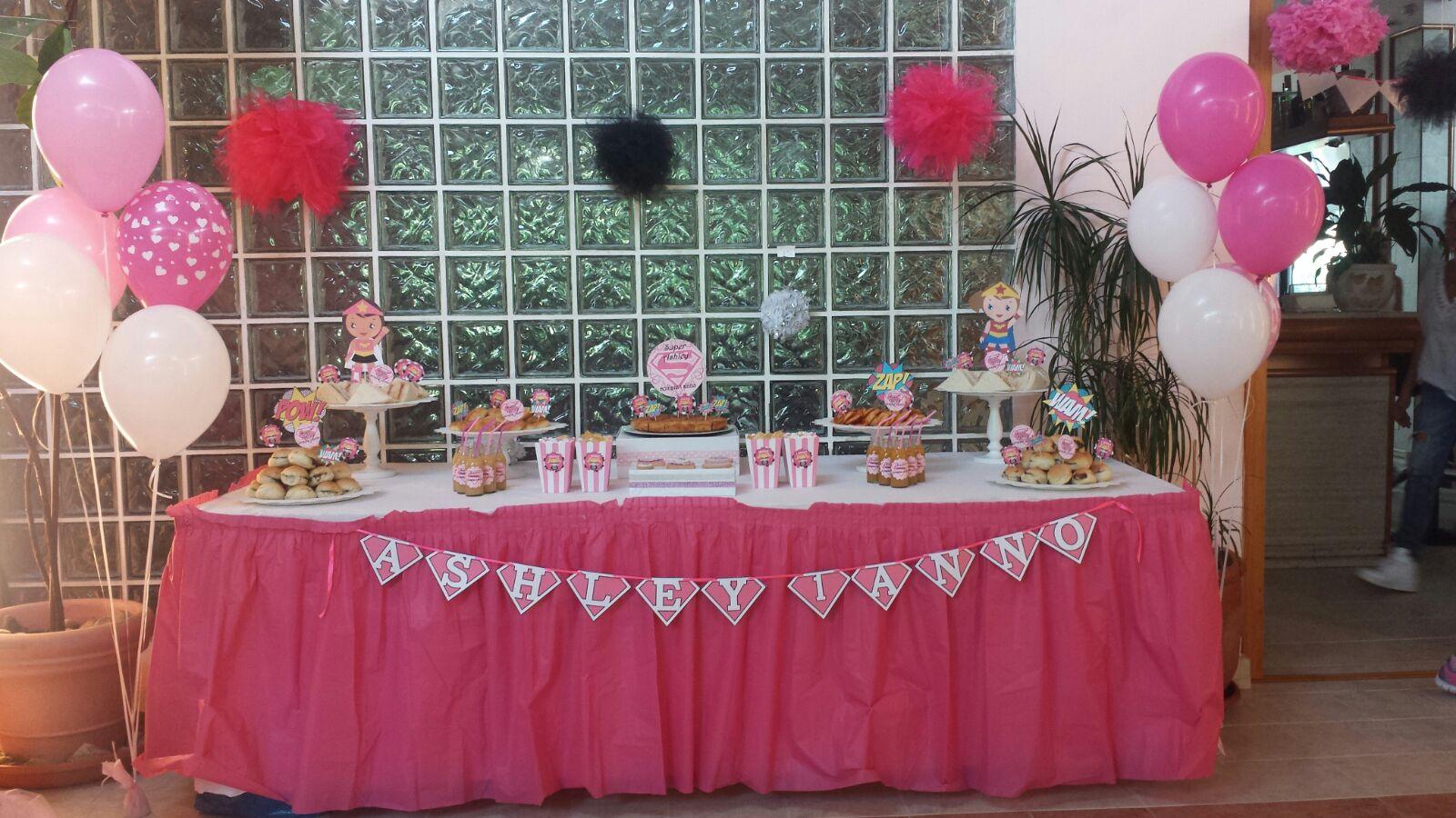 Tavolo Compleanno Bimbo : Allestimento feste di compleanno per bambini frozen biancaneve