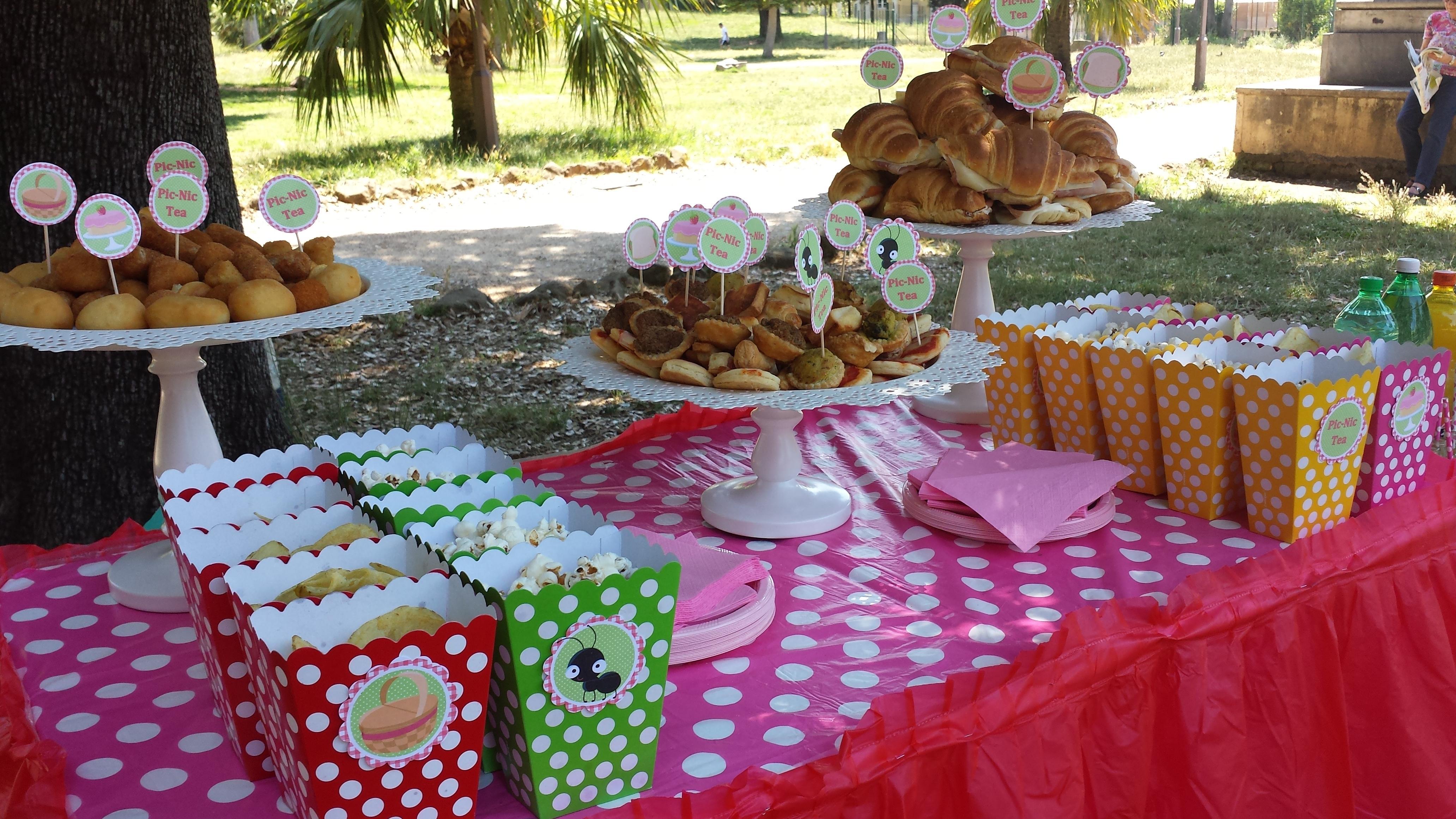 Célèbre Picnic Party, festa di compleanno sull'erba ⋆ Bolle Eventi  KX17