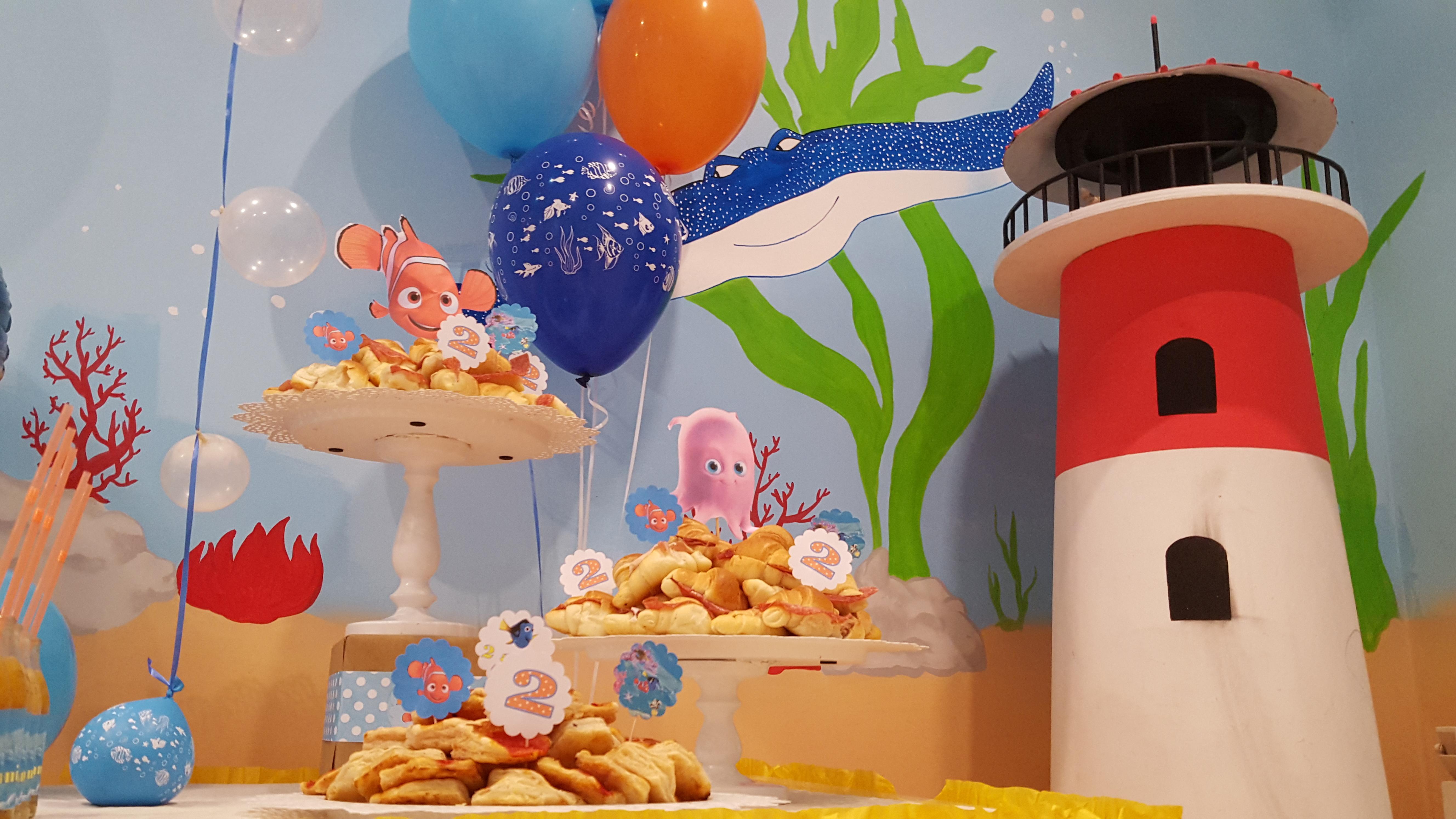 Festa Nemo Addobbi Nemo Compleanno Demo Decorazioni Nemo Accessori ...