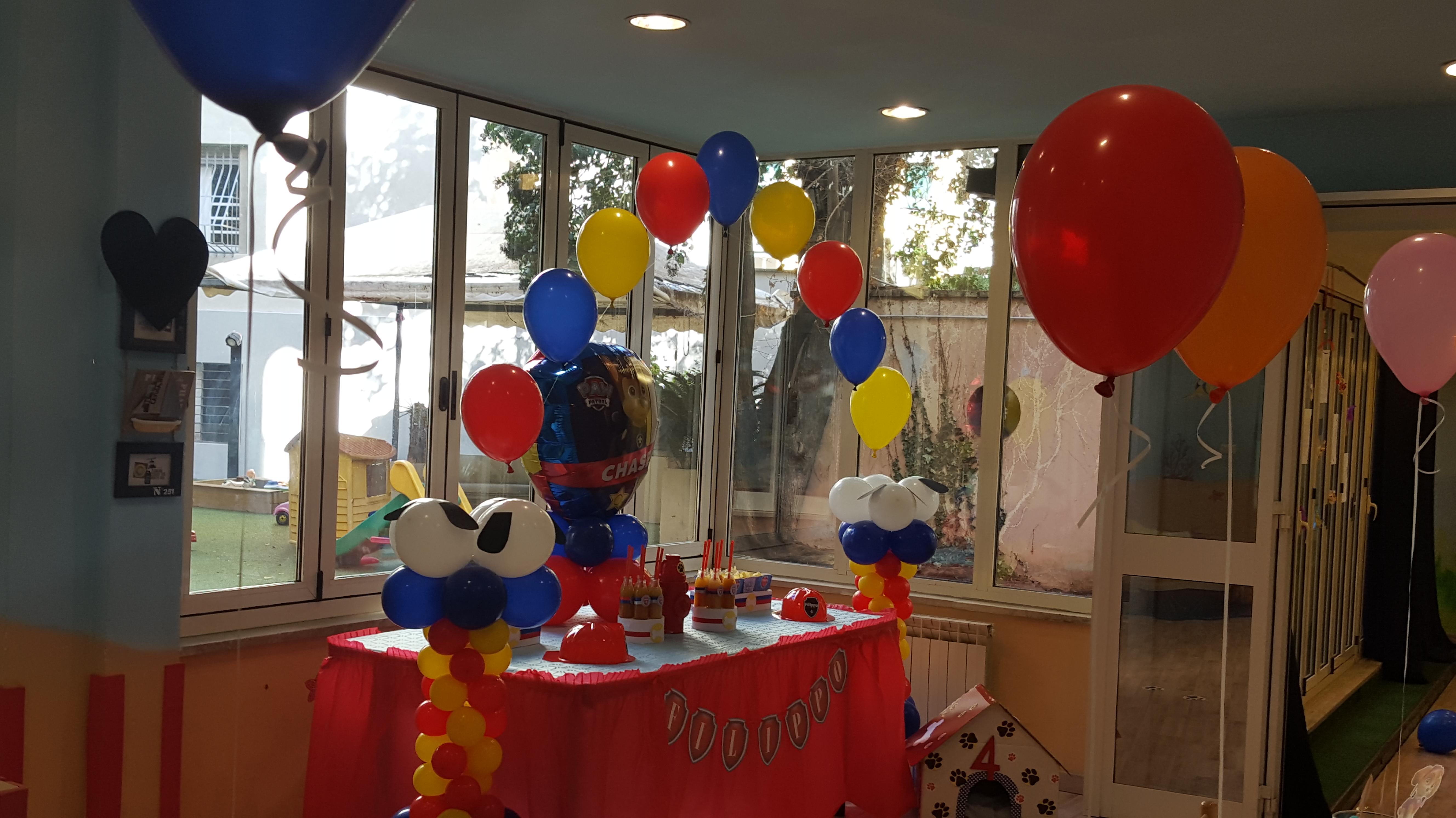 Decorazioni Per Feste Di Compleanno Roma : Paw party! festa a tema paw patrol ⋆ bolle eventi eventi